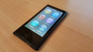 IPOD NANO 7th gen Black