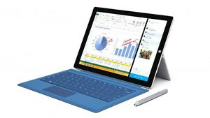 Surface Pro 3 Cracked Screen and Broken Charger
