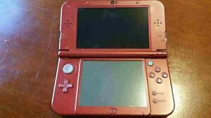 NEW NINTENDO 3DS with charger and animal crossing new leaf game