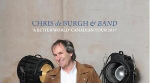 Chris De Burgh 3 Oct Ottawa