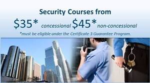 BRISBANE Government FUNDED Cert III in Security Operations Brisbane City Brisbane North West Preview