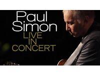 PAUL SIMON - ROYAL ALBERT HALL - MONDAY 7TH NOVEMBER