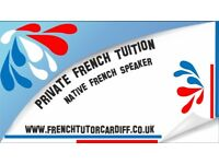 Private french lessons in Cardiff