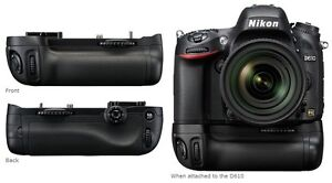 Nikon d610 with battery grip