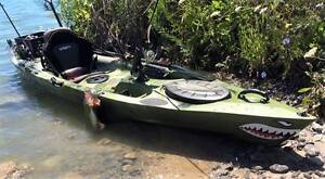 Brand New Winner Leisure Fishing Kayak w/Paddle & Rudder