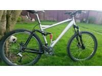 "Trek liquid alloy 26"" full suspension mountain bike"