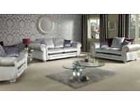 CHESTERFIELD SOFA /CORNER/3+2/ONLY CRUSHVELVET A