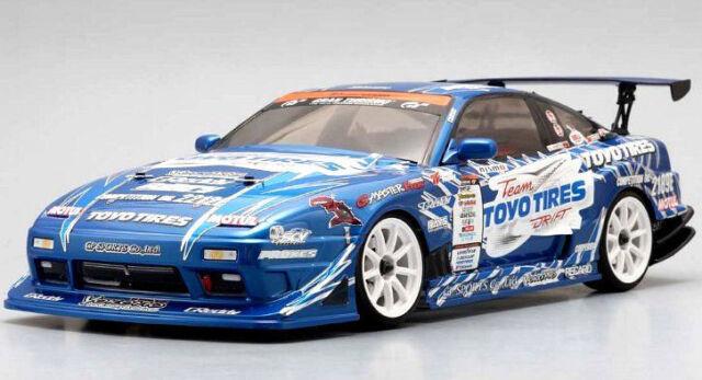 Yokomo Team Toyo Tires Drift Gp Sports 180sx Body 1 10 Rc Car