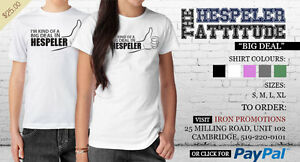 Be a big deal in Hespeler !  Shirt printed in Hespeler