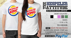 Hespeler King ! Burger King spoof shirt. Printed in Hespeler !