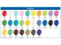 "100 Belbal 10"" Latex balloons in large choice of colours for £5. Weddings, Birthdays, Corporate"