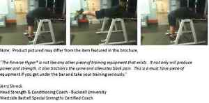 REVERSE HYPER (Westside Barbell) **perfect condition** Peterborough Peterborough Area image 2