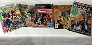 6 COMIC BOOK COLLECTION StormQuest & Young Indiana Jones Chronic