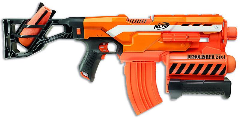Top 10 nerf elite guns ebay for Nerf motorized rapid fire blasting