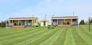 Waterfront Cottages for rent in Guernsey Cove, PEI