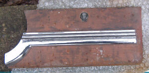 1947 and 1948 Chevy car glove box door with chrome.