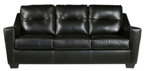 DUPREE  GENUINE LEATHER SOFA  - STORE CLOSING PRICES !!!!