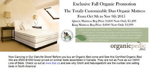 Organic Mattress Certified GOLS GOTS
