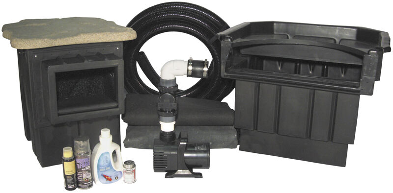 Professional Pond Kits by Complete Aquatics - Everything for Ponds up to 20