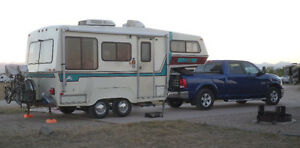 Bigfoot TF-20 DLX 5th wheel in road-ready updated condition