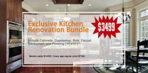 Limited Summer Offer! All-inclusive Kitchen Bundle for $3,499