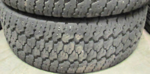 75% TREAD!!! 265/70/17 Goodyear Silent Armor $250 FOR THE TWO OF