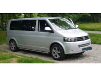 VW T5 T30 LWB, CAMPERVAN, FULLY LOADED, 55K, PREMIUM ENTERTAINMENT SYSTEM