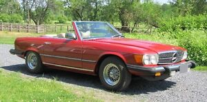 1977 Mercedes-Benz 450-SL – Absolutely impeccable