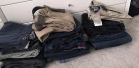 Boys Age 12 Jeans/Chino/cargo/ Bundle