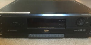 Vintage SONY 5 CD/DVD player carousel DVP-C650D