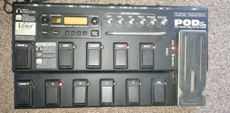 Line 6 Pod XT Live guitar FX pedal | in Ingol, Lancashire | Gumtree