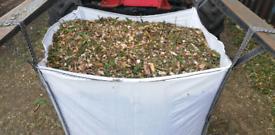 Woodchip Wood Chip Mulch Biomass