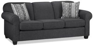 NEW Aristotle Sofa (by Décor-Rest Furniture) - Color Graphite.