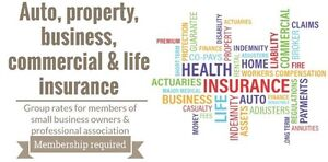 Insurance - Auto, property, business, commercial & life