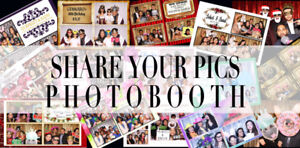 # 1 Photobooth in the business! Share Your Pics Photobooth