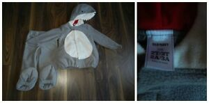 Old Navy 2T/3T Shark Halloween Costume