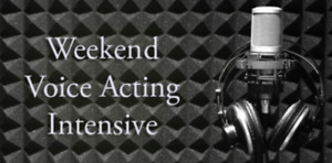 Voice Acting Workshop in February! Early Bird discount available