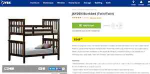 Twin bunk bed / 2 Separate Twin Beds