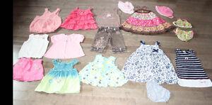 Beau lot de vêtements bébé 24 mois été (lot A)