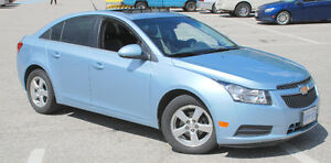 2012 Chevrolet Cruze LT Turbo+ w/1SB Sedan FOUR SNOW TIRES -