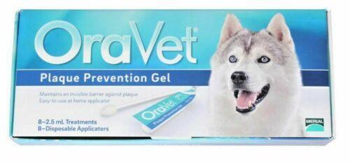 Oravet Plaque Prevention Gel, 8 Pack