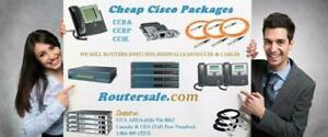 Cisco CCNA CCNP CCIE R&S Voice Security Wireless Collaboration certification lab kit packages Toronto Canada