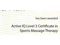 Massage - Qualified Therapist (Free)