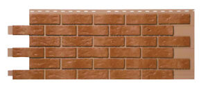 Mobile Home/RV Novik Brown Blend Simulated Brick Skirting Panel (9 Pieces)