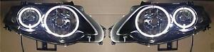 Ford Falcon FG XR Turbo Angel Eyes HEAD LIGHTS with rings XR6 XR8 (CHANGEOVER)