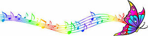 Multicoloured-Rainbow-Butterfly-Music-Notes-Vinyl-Car-Sticker-Wall-Art-Bedroom