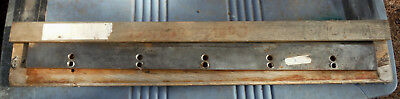 Pick 1 Vintage Guillotine Paper Cutter blade ,knife making? cutlery blade?
