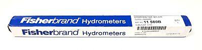Fisherbrand 11-580b Hydrometer Baume Glass Labware Size 0-50