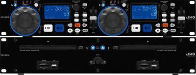 IMG Stage Line CD-230USB DJ-Dual-CD und MP3-Spieler
