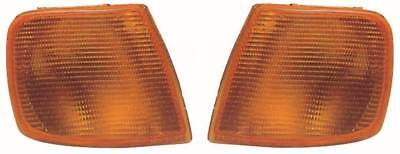 For Ford Sierra 1987-1990 Amber Front Indicator Lights Lamps 1 Pair O/S & N/S